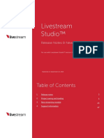 Livestream Studio Release Notes and New Features 3.1.0
