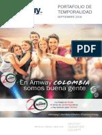 Amway Precios 2016