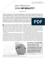 Indian Democracy--Illusion or Reality -- In Education About Asia 2007