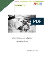 Sincretismos nas Religioes Afro_João Ferreira Dias