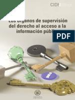 Los órganos de supervisión del Derecho de Acceso a la Información Pública