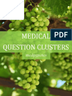 Medical Question Clusters Sample