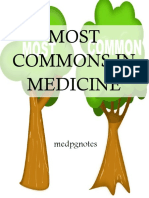 Most Commons in Medicine Sample