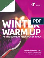 Dow Bay Area Family YMCA Winter I Program Guide