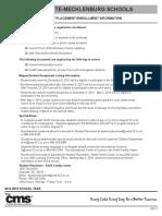 2014-2015 enrollment packet  english  final