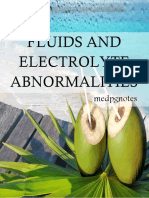 Fluids and Electrolyte Abnormalities Sample