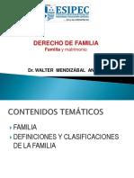 1 Familia y Matrimonio Nociones Generales