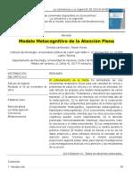 1.1. Traducción, Modelo Metacognitivo de la Atención..docx