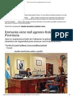 25-9Perfil - Enviarán siete mil agentes federales a la Provincia.pdf
