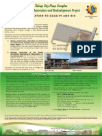 Talisay City Plaza Complex Heritage Restoration and Redevelopment Project ITQB v2