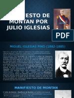 Manifesto de Montan Por Julio Iglesias....
