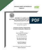 Estudio y Clasificación de Los Factores Tecnológicos Que Afectan La Transición de Ipv4 a Ipv6 Revision 3 Feb 2016 1(1)