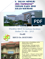 Pengalaman RS Soetomo Meraih Akreditasi Tingkat Paripurna