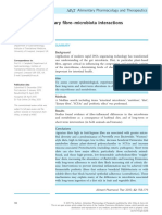 Dietary Fibre–Microbiota Interactions