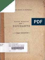 Fatos Básicos Sobre o Esperanto