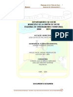 Documento Resumen Esquema de Ordenamiento La Union 2004-201