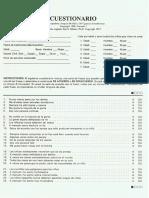 Cuadernillo Inventario de Potencial de Maltrato Infantil (CAP)