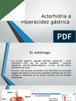 Aclorhidria a Hiperacidez Gástrica