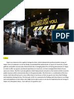 private gallery+public musuem schedule