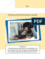 Folleto Docentes Gestion Inclusiva Calidad