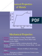 Mechanical Properties of Metal