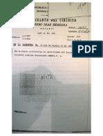 Acta de Escritura de cambio de directorio de Omexil S.A. en 1983