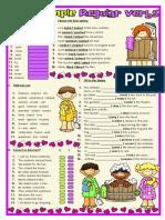 @Past Simple - Regular Verbs (Exercises) 2