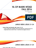 Jesus Heals the Hurting_Gospel of Mark 5.21_43 NT352 Fall 2016
