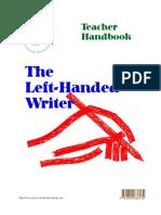 TheLeft HandedWriter TeacherHandbook