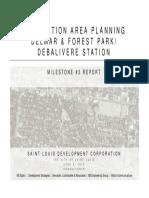 Technical Advisory Committee Meeting Presentation on Forest Park DeBaliviere and Delmar Loop MetroLink Station Areas June 4 2013