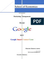Project-Marketing Management Google