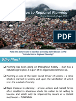 Lecture1 Regional Planning