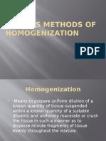 Homo Gen Ization