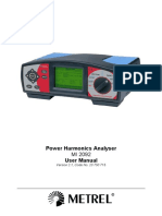 MI 2092 Power Harmonics Analyser ANG Ver 2.1!20!750 715