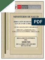 Reglamento Serums 2016 - n
