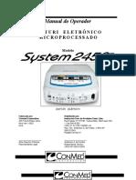 Bisturi System 2450 - Conmed.doc