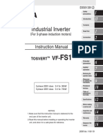 Toshiba VF FS1 Manual