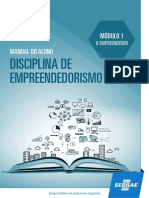 Empreendedorismo Manual Do Aluno Módulo 1 Sebrae
