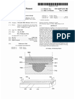 """U.S. Patent 6,657,113, entitled """"Molded Fretboard and Guitar"""", Issued 2003."""
