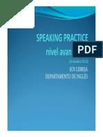Speaking Practice Na1 Diciembre 2013