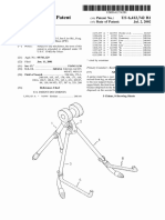 "U.S Patent 6,412,742, entitled ""Guitar Stand"", issued 2002."