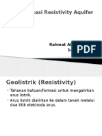 Identifikasi Resistivity Aquifer