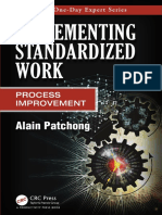 Implementing Standardized Work Process Improvement