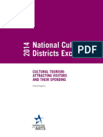 2014 Cultural Tourism Attracting Visitors and Their Spending