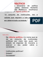 Regime Político x