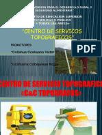 Diapositiva Proyecto Productivo C&C TOPOGRAFOS