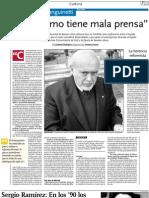Entrevista con Horacio Sanguinetti
