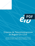 EEFF Separados NIIF Con Notas Cierre 2015