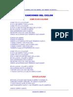 Canciones Del Ciclon