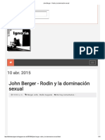 John Berger - Rodin y La Dominación Sexual